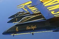 U.S. Navy Blue Angels in Formation Photo Print for Sale