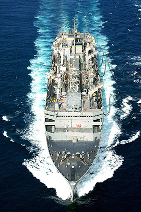 U.S. Navy USNS Arctic Fast Combat Support Ship Photo Print