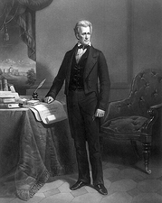 U.S. President Andrew Jackson Engraved Portrait Photo Print