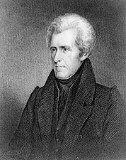 U.S. President Andrew Jackson Portrait Photo Print for Sale