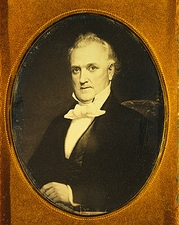 U.S. President James Buchanan Portrait Photo Print