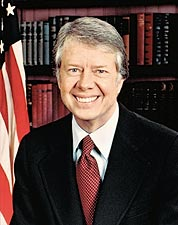 U.S. President Jimmy Carter Portrait Photo Print for Sale