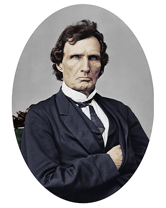 U.S. Representative Thaddeus Stevens Portrait Photo Print