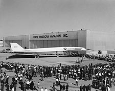 Unveiling of North American XB-70 / XB-70A Photo Print for Sale