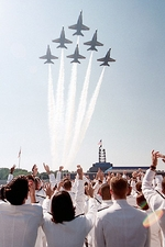 US Navy Blue Angels Naval Academy Graduation Photo Print