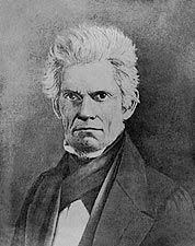 US Vice President John C. Calhoun Daguerreotype Portrait  Photo Print for Sale