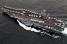 USS Abraham Lincoln Aircraft Carrier Photo Print for Sale