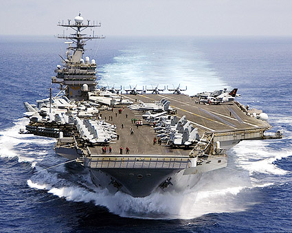 USS Carl Vinson Aircraft Carrier CVN 70 Photo Print