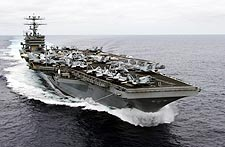 USS Carl Vinson Aircraft Carrier Photo Print for Sale