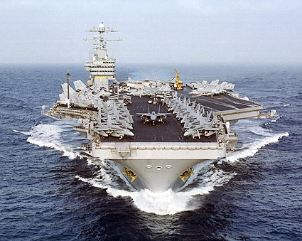 USS Dwight Eisenhower Aircraft Carrier Photo Print