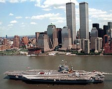 USS John F Kennedy Aircraft Carrier NYC Photo Print for Sale