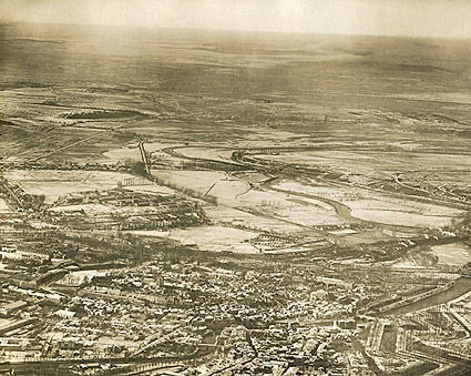 Verdun and River in France WWI Photo Print