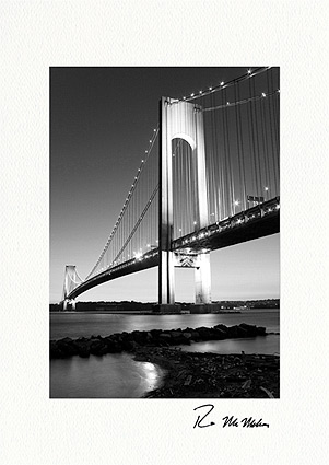 Verrazano-Narrows Bridge, New York City Boxed Greeting Cards