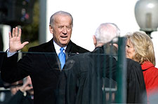 Vice President Biden Oath of Office Photo Print for Sale