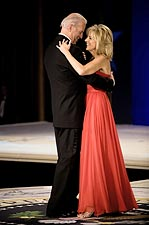 VP Joe Biden and Jill Biden Dance at Inaugural Ball Photo Print for Sale
