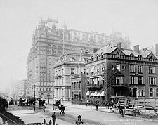 Waldorf-Astoria Hotel New York City 1899 Photo Print for Sale