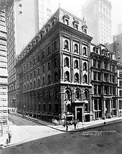 Wall Street Bank of New York Building 1922 Photo Print for Sale