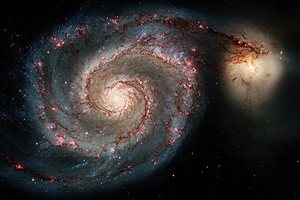 Whirlpool Galaxy Hubble Space Telescope Photo Print