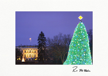 White House Washington D.C. Individual Christmas Cards