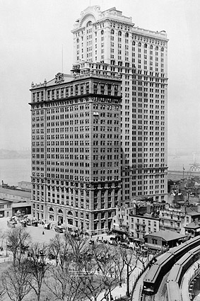 Whitehall Buildings Downtown New York 1911 Photo Print