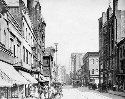 Whitehall Street Atlanta Georgia 1900s Photo Print