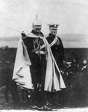 Winston Churchill and Kaiser Wilhelm Photo Print for Sale