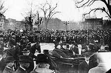 Woodrow Wilson & William Howard Taft at Inauguration 1913 Photo Print for Sale