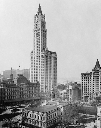 Woolworth Building Manhattan New York 1913 Photo Print
