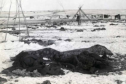 Wounded Knee Massacre Aftermath Photo Print