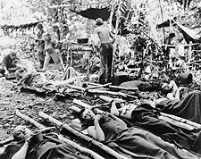Wounded Soldiers in Australia WWII Photo Print for Sale