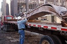 Wreckage Removal 9/11 Photo Print for Sale