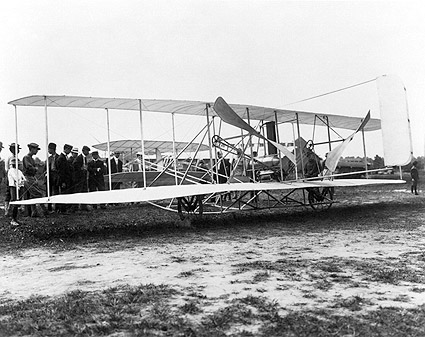 Wright Brothers Flyer Airplane 1908 Photo Print