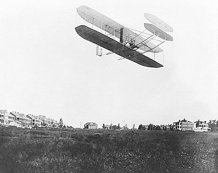 Wright Brothers Type A Flyer in Flight 1908 Photo Print