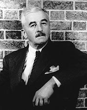 Writer William Faulkner Seated Portrait Photo Print for Sale