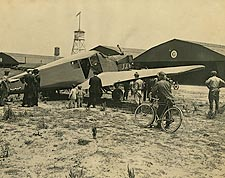 WWI Junkers-Larsen JL-6 Plane on U.S. Army Base Photo Print for Sale