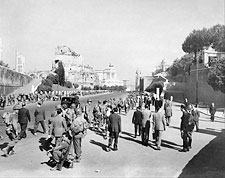 WWII American Infantry Soldiers Rome Italy Photo Print for Sale