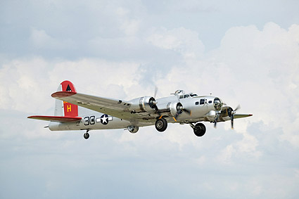 WWII B-17 Flying Fortress Bomber Photo Print