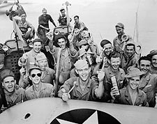 WWII Flight Crew Mechanics at Kelly Field Photo Print for Sale