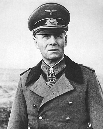 WWII German General Erwin Rommel Portrait Photo Print