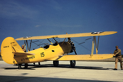 WWII Marine Power Plane, Page Field, S.C. Photo Print