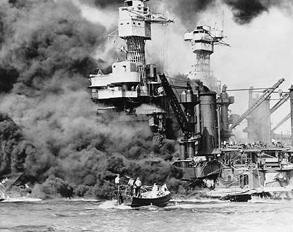 WWII Pearl Harbor USS West Virginia Rescue Photo Print