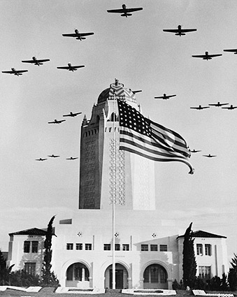 WWII Planes Formation over Randolph Field Photo Print