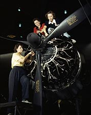WWII Women Building C-47 Douglas Airplane Photo Print for Sale
