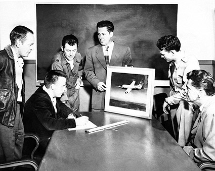 X-1 Flight Team Chuck Yeager & Others Photo Print