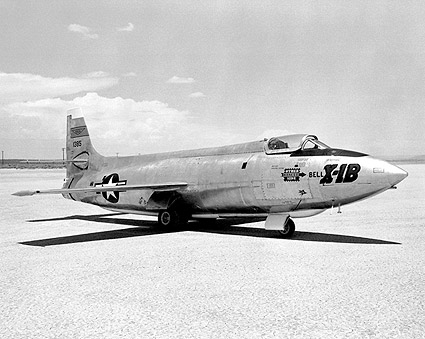 X-1B on Lakebed Bell X-1 Photo Print