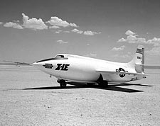 X-1E on Lakebed Bell X-1 Photo Print for Sale
