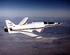X-29 Aircraft in Flight NASA Photo Print for Sale