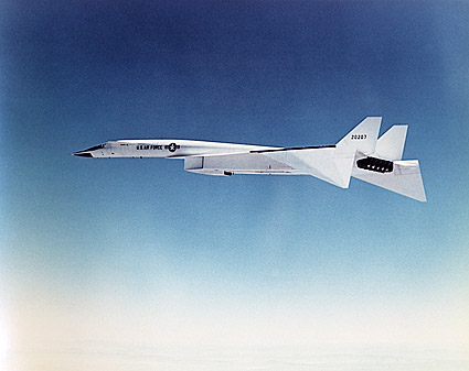 XB 70 Aircraft in Flight US Air Force Photo Print for Sale