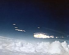 XB-70 and F-104 Aircraft Midair Collision Photo Print for Sale