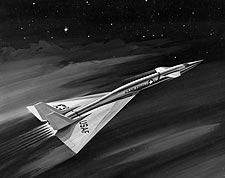 XB-70 Valkyrie in Flight Artistic Rendering Photo Print for Sale